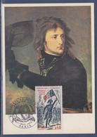 Bonaparte Au Pont D'Arcole Carte Postale 1er Jour Paris 11.11.72 N°1730 - 1970-79