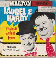 Walton Super 8  Laurel & Hardy : Melodie On The Move, Super 8 Mm , Spoel 60 Mtr - 35mm -16mm - 9,5+8+S8mm Film Rolls