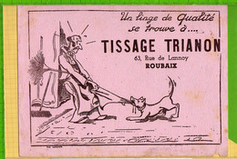 Buvard & Blotting Paper : Tissage TRIANON ROUBAIX (Buvard Ancien  Rare ) - Textile & Clothing