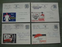 LOT DE 4 PUBLIBELS 1524 / 1608 / 1626 / 1628 - Publibels