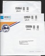 Internetfrankering - Digitale Postzegel - Tarief 2012 - PostNL-logo (gekapt) - 2 Maten Etiketten - Non Classés