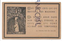 """Abbaye Notre-Dame D'Orval: """"Dieu Bénit Ceux Qui Lui édifient Des Maisons..."""" St-François De Sales. - Florenville"""