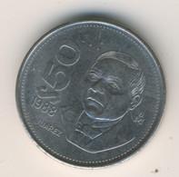 MEXICO 1988: 50 Pesos, KM 495a - Mexico