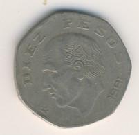 MEXICO 1981: 10 Pesos, KM 477 - Mexico