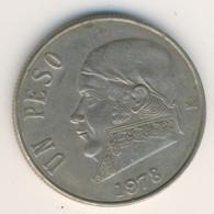 MEXICO 1978: 1 Peso, KM 460 - Mexico