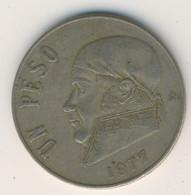 MEXICO 1977: 1 Peso, KM 460 - Mexico