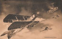 Tematica - Militari - Guerra 15 - 18 - Combattimento Aereo - - War 1914-18
