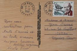 88 Vosges- N°3403 Albert Cacquot Sur CP En Bois 2001 - Non Classificati