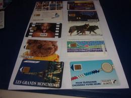 LOT DE 10 TELECARTES  Lot 2 - Collections