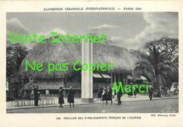 ☺♦♦ OCEANIE < PAVILLON à L'EXPOSITION COLONIALE De PARIS En 1931 - Unclassified