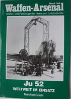 Buch LUFTWAFFE JUNKER Ju 52 Aviation Flugzeug Vliegtuig Aircraft Transport 1939-45 WK2 - Sin Clasificación