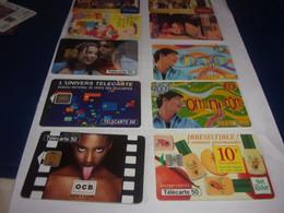 LOT DE 10 TELECARTES  Lot 4 - Collections