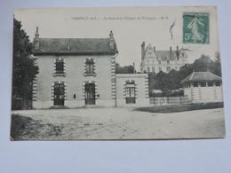 VERETZ - La Gare Et Le Château De Thuisseau  B0195 - Altri Comuni