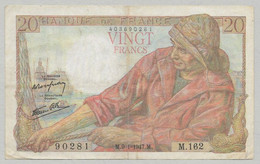 France - 20 Francs Pêcheur 9-1-1947 1 Billet - 20 F 1942-1950 ''Pêcheur''
