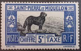 St.Pierre Et Miquelon > Timbres-taxe Neufs N°21* - Postage Due