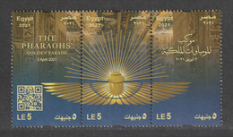Egypt - 2021 - NEW - ( THE PHARAOHS Golden Parade - 3 April 2021 ) - MNH (**) - Unused Stamps