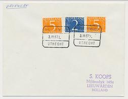 Treinblokstempel : S Hertogenbosch - Utrecht L 1967 - Non Classificati