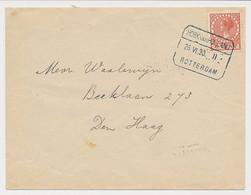 Treinblokstempel : Hoek Van Holland - Rotterdam II 1930 - Ohne Zuordnung