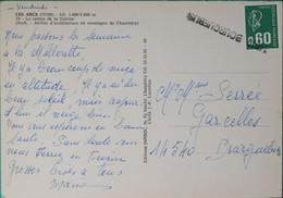 14 - Calvados- Griffe Linéaire D'annulation à L'arrivée 14545 Bourguebus - 1921-1960: Periodo Moderno