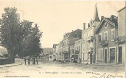 Saint Mihiel   2 Cartes Differentes      Avenue De La Gare - Saint Mihiel