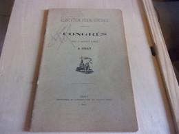 ASSOCIATION FRANC COMTOISE  CONGRES A GRAY 1902 GASCON - Franche-Comté