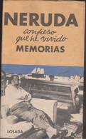 NERUDA Confieso Que He Vivido MEMORIAS - Other