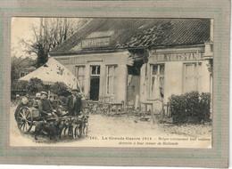 CPA - THEMES - ATTELAGE à CHIEN (S) Belges Retrouvant Leur Maison Détruite à Leur Retour De Hollande - 1915 - Other