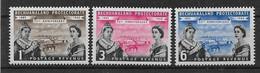 Bechuanaland 1960  Mi.-Nr. 141 - 143 **/MNH - 1885-1964 Protectorado De Bechuanaland