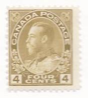 17304) Canada  1922  Mint Hinged - Nuovi