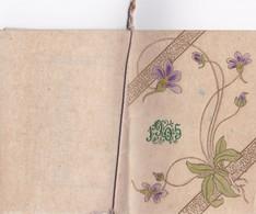 CALENDRIER 1905 - Livret 12 Pages + Couverture Gaufrée Tenu Par Une Petite Corde - Editions Raphaël Tuck & Fils - Big : 1901-20