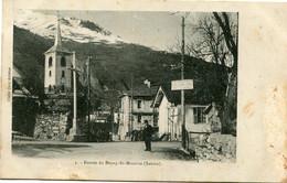 ENTREE De BOURG St MAURICE - - Bourg Saint Maurice