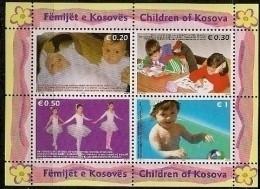 2006 Kosovo Mi.  Bl 2X    **MNH    Kinder - Kosovo
