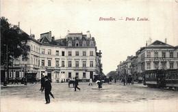 Belgique - Bruxelles - La Porte Louise Et Le Tram N°10 - Corsi