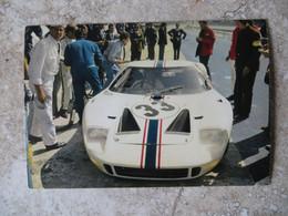 CPM Sport Automobile F1 Monza Circuit - Voiture De Course FORD GT 40  1967 - Ligier/Jo Schlesser - - Le Mans