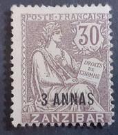France (ex-colonies & Protectorats) > Zanzibar (1894-1904) >   N°52(*) - Neufs