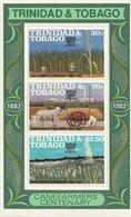 TRINIDAD & TOBAGO - Centenaire De La Production De La Canne à Sucre - BF + 3 Timbres - MNH - 1982 - Trinité & Tobago (1962-...)