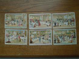 Assez Rare Série De 6 Images Pub Liebig , - Liebig