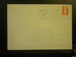1989 N° 2614 MARIANNE DU BICENTENAIRE FAUX DE MARSEILLE VOIR SCAN - Briefe U. Dokumente