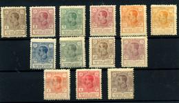 Guinea Española Nº 128/37. Año 1919 - Spanish Guinea