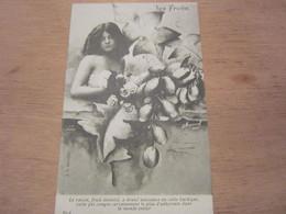 Carte Postale  Les Fruits Le Raisin - Altri