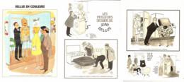 """"""" BELLUS COLOR """" + """" Les MEILLEURS DESSINS De BELLUS """" 1973  ( 12) - Sonstige"""