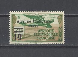 A.E.F. YT  PA N° 20 (signé BRUN)   Neuf **  1940 - Ungebraucht