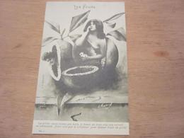 Carte Postale  Les Fruits La Pêche - Altri