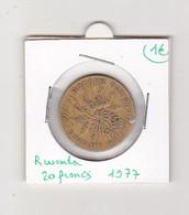 Rwanda 20 Francs 1977 - Rwanda