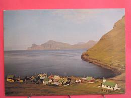 Iles Feroe - Elduvík - Excellent état - R/verso - Faroe Islands