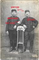 Orginal Photo Belgian Soldiers Brancardier Lanciers Lancer Stretcher-bearer Ysercap 1915 - 1914-18