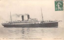 ¤¤ Cpa 1914 Le TIMGAD - Paquebot De La Cie Générale Transatlantique - J. GEISER, Phot. Alger ¤¤ (¬‿¬) ♦ - Paquebots