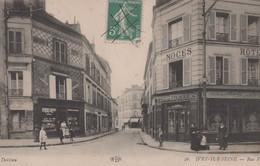 TF - 94 - 4 Cartes IVRY SUR SEINE - Ecole Communale - Vue Panoramique - Rue Voltaire - Café Au Bon Coin - Ivry Sur Seine