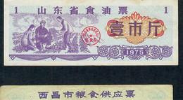 CHINA FOOD COUPON  1975   XF - China