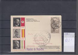 Spanien Michel Cat.No. Card Meeting Franco / Mussolini / Hitler786 Multi Bilbao Arriba Espana - Emisiones Nacionalistas